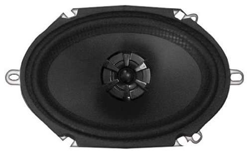 Audiobahn AMS680H 6 X 8 Inches 2-Way Murdered Out Series Coaxial Car Speakers