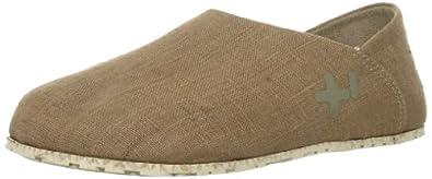 OTZ Shoes Unisex OTZ300GMS Linen Slip-On, Beige, 38 EU (8 M US Women)