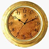Lawn & Patio - The Rumford Gardener DF7002 Copper Clock (Indoor/Outdoor)