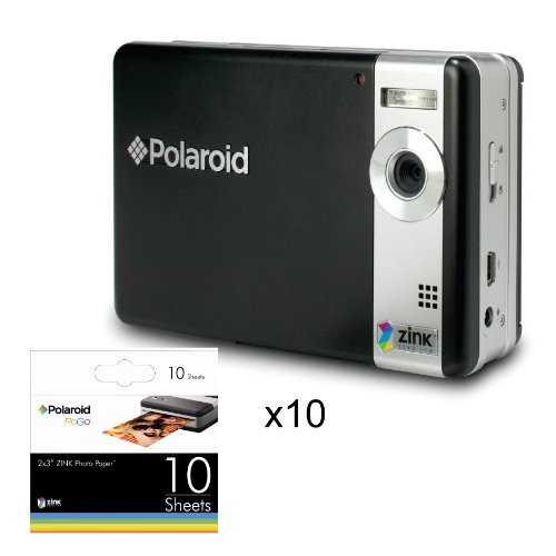 POLAROID ZINC MEDIA 30 INKLESS PHOTO PAPER INSTANT MOBILE PRINTER SNAP QUALITY