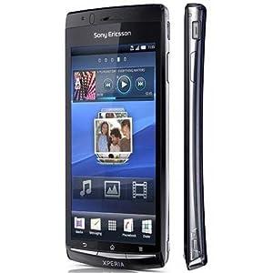 Sony Ericsson Arc S LT18i Unlocked GSM Cellular Phone--International Version, no Warranty (Black)