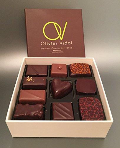 Polydisvins - Coffret 10 Chocolats Meilleur Ouvrier De France