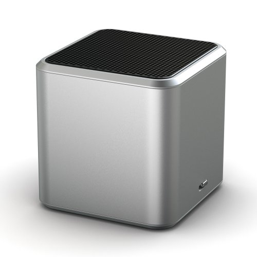 Jamcube Portable Bluetooth Speaker With Built-In Microphone Fm Radio