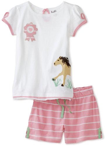 Hatley Girls 2-6X Kids Running Horses Play Set