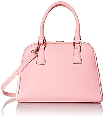 MG Collection Structured Doctor-Style Two-Tone Satchel Bag by MG Collection