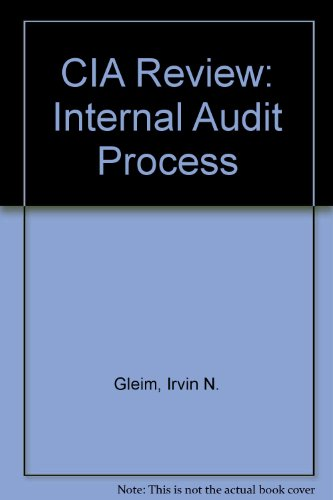 CIA Review Part 1: Internal Audit Process