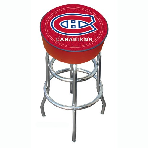 NHL Montreal Canadiens Padded Bar Stool