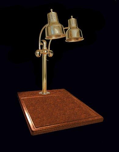 Hanson brass dlm ti br carving station dual bulb heat