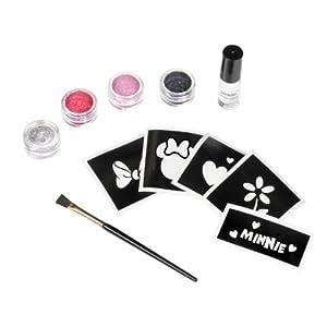 Disney Minnie Mouse Glitter Tattoo Kit