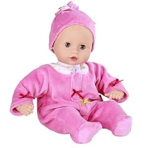 gotz muffin baby doll 33cm blue sleeping eyes