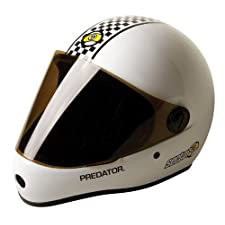 Sector 9 Predator - Downhill Division Helmet, White, One Size