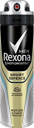 Rexona Sport Difesa - Deodorante spray uomini,150ml, modelli assortiti, confezione da 6