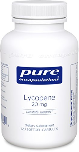 Pure Encapsulations - Lycopene 20 mg. - Dietary Supplement for Prostate, Cellular and Macular Support* - 120 Softgel Capsules