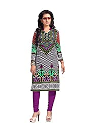 AMP IMPEX Ethnicwear Women's KURTIS Multi-Coloured_Free Size