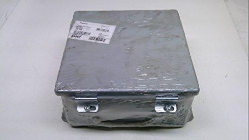 Hoffman A808CH J Box, NEMA 12 Hinged Cover, Steel, 8