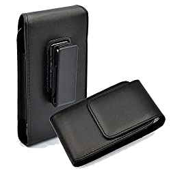 Kingsource (TM) Apple iPhone 6 Plus/Apple iPhone 6S Plus holster--Vertical Leather Case Holster with Rotating Belt Clip for Apple iPhone 6 Plus Apple iPhone 6 Plus/Apple iPhone 6S Plus holster (5.5