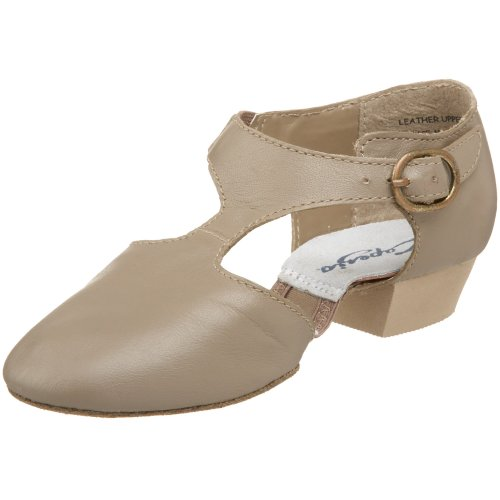 Capezio Women's Pedini Jazz Shoe,Tan,10 M US