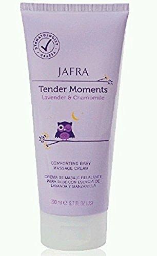 Jafra Tender Moments Lavender & Chamomile Baby Massage Cream - 1