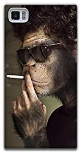 The Racoon Lean Smoking Monkey hard plastic printed back case / cover for Xiaomi Mi3
