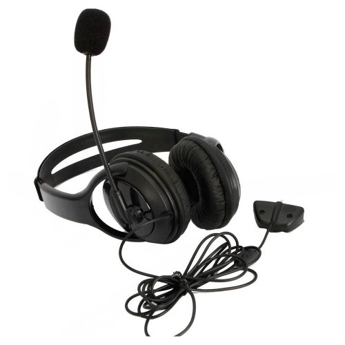 Big Headset Headphone with Microphone MIC for Microsoft Xbox