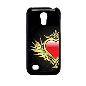 Vibhar printed case back cover for Samsung Galaxy S4 Mini LoveKing
