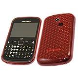 GVAccessories Samsung S3350 Chat Red Gel case