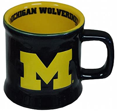 NCAA Michigan Wolverines Mug Ceramic Relief from Gameday Outfitters