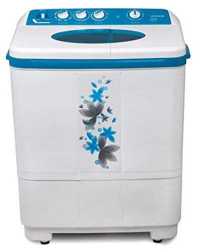 Hyundai HYS72F Semi-automatic Top-loading Washing Machine (7.2 Kg, Luminous Blue)