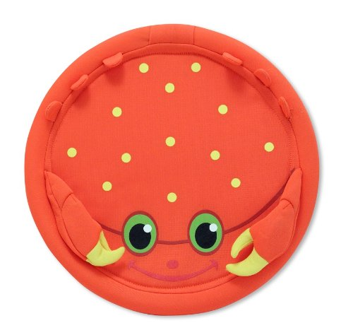 Melissa & Doug Sunny Patch Clicker Crab Flying Disk - 1