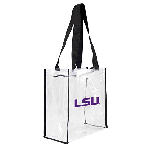 ncaa-lsu-tigers-square-stadium-tote-115-x-55-x-115-inch-clear-by-littlearth