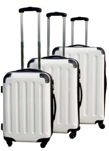 Kofferset 3tlg Reisekoffer Trolly-Set Polycarbonat