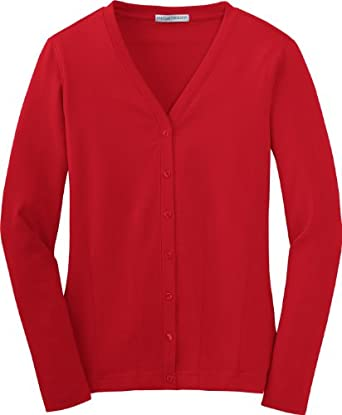 NEW Port Authority - Ladies Modern Stretch Cotton Cardigan. L515 [Apparel]