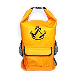 PrometheanWear  Dry Bag with Two Straps, 36L - Orange