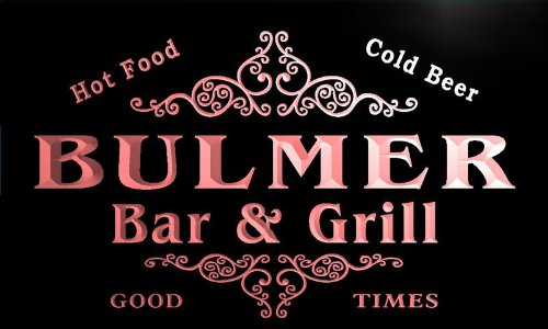 u06018-r-bulmer-family-name-bar-grill-cold-beer-neon-light-sign-enseigne-lumineuse