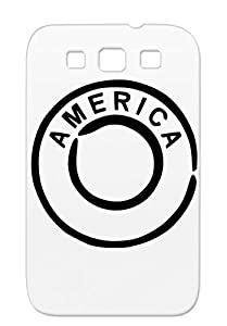 United States Cities Countries Amerika USA Miscellaneous Americas Brazil America Mexico Black Protective Case For Sumsang Galaxy S3
