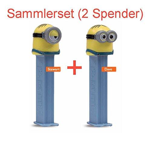 pez-spender-minions-doppelpack-dave-und-steward-2-spender-6x-fullung-sammlerset
