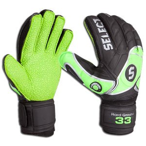 Select 33 Hard Ground Goalkeeper Glove (Size 10)