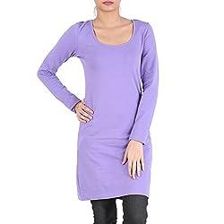Avarnas Women's Tunic (AVTU008PUS_Dhalia Purple_32)