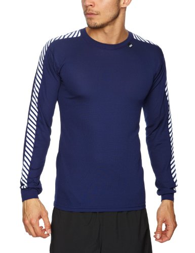 Helly Hansen Men's HH Dry Stripe Base Layer Crew