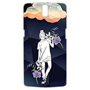 a AND b Designer Printed Mobile Back Cover / Back Case For OnePlus One (1Plus1_3D_411)