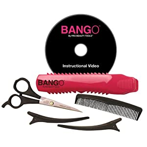 Pro Beauty Tools Home Haircutting Kit, Pink