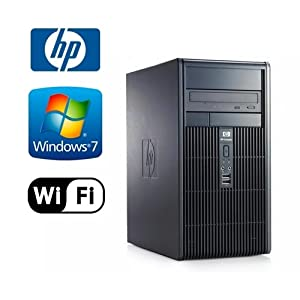 HP DC5800 MicroTower - Intel Core 2 Duo 3.0GHz - NEW 1TB HDD - 4GB RAM - Windows 7 Professional 32-Bit - WiFi - DVD-ROM (Prepared by ReCircuit)