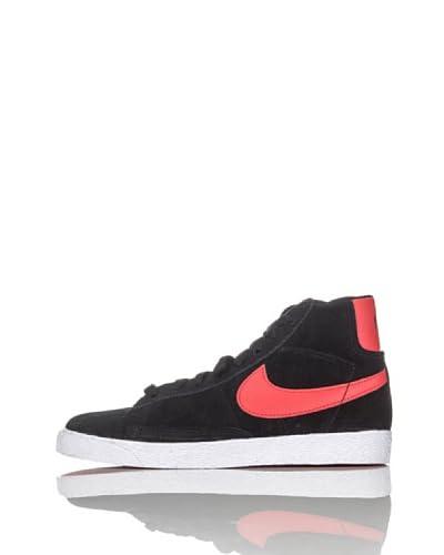 Nike Zapatillas Blazer Mid Vintage (Ps) Negro / Naranja