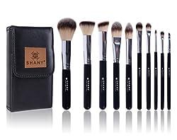 Shany Black Ombre 10 Pc Brush Set