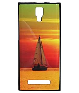 Sweetipie Back Cover For Micromax Canvas Xpress 4G Q413 - Boat
