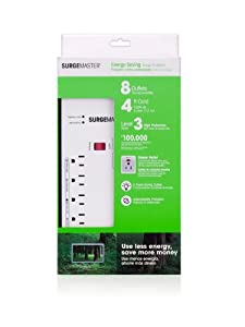 Belkin Surgemaster Energy Saving Surge Protector with 4ft Cord from Belkin Components