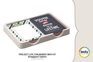 Project Life by Becky Higgins Childhood Mini Kit - Bridgeport Edition
