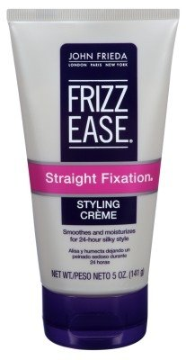 John Frieda Frizz Ease Straight Fixation Styling Creme, 5 Ounce