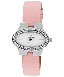 Maxima Attivo Analog White Dial Womens Watch - 27083LMLI