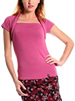 ZZ_Zergatik Camiseta Manga Corta Mindia (Rosa)